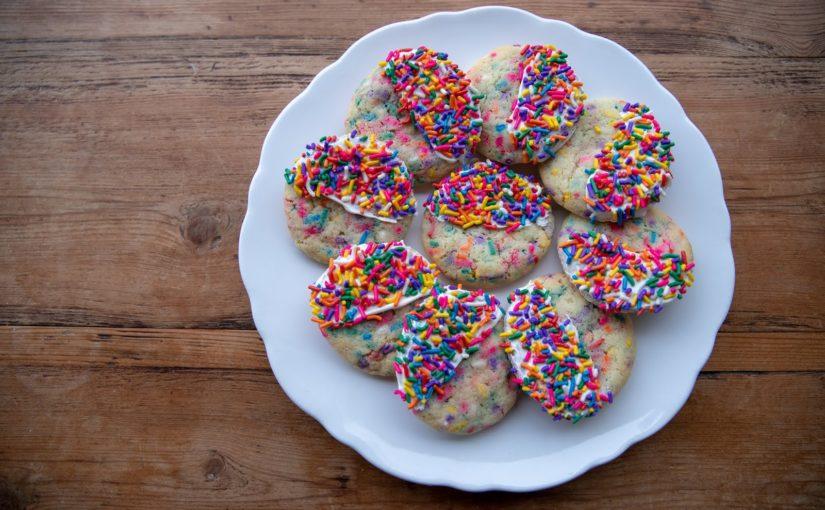 Funfetti or Confetti Cookies