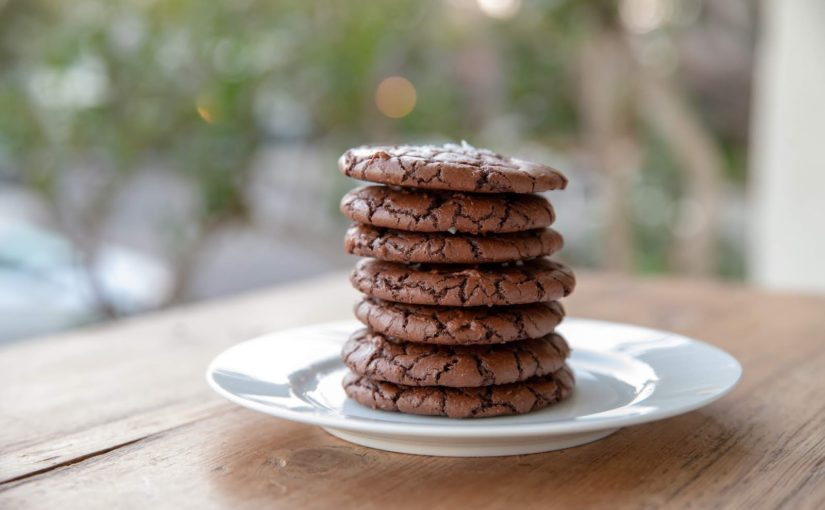 Brownie Crinkle Cookies (The Boy Who Bakes recipe)